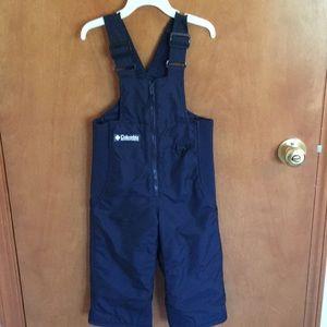 Boys 3t Columbia snow pants